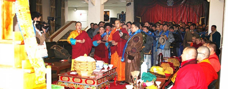 Монголын ард түмний заяа буяныг даатган мандал өргөх ёслол үйлдэнэ