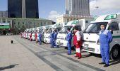 Түргэн тусламжийн төвд иж бүрэн тоноглосон 10 автомашин хүлээлгэн өглөө