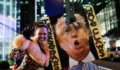 Фото: АНУ-д Дональд Трампийг эсэргүүцсэн эмэгтэйчүүдийн жагсаал болов