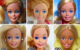 Барби хүүхэлдэйн хувьсал: 1959-2017
