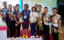 Аэробикчид Дэлхийн аваргаас хүрэл медаль хүртлээ