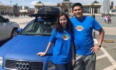 ФОТО: Монгол залуус автомашинаар 35 мянган км замыг туулж, Лондонд очжээ