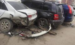 Согтуу жолооч 5 машин мөргөж осол гаргажээ