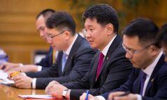 """У.Хүрэлсүх: Улаанбаатар-Тяньжины хамтын ажиллагаанд """"шинэ зам"""" гаргалаа"""