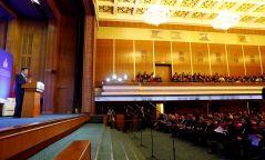 Төрийн албаны удирдах ажилтны улсын зөвлөгөөнд Монгол Улсын Их Хурлын дарга М.Энхболд үг хэлэв