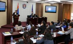 Улс төрийн хилс хэрэгт холбогсдод нөхөн олговор олгох шинэчилсэн хуулийг танилцуулах  уулзалт боллоо