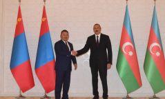 Ерөнхийлөгч Х.Баттулга Бүгд Найрамдах Азербайжан улсын Ерөнхийлөгч Илхам Алиевтэй уулзав