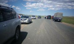 Баяр, амралтын өдрүүдэд 427 зам тээврийн осол бүртгэгджээ