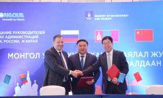 Монгол Улс, ОХУ, БНХАУ-ын Аялал жуулчлалын сайд нар протоколд гарын үсэг зурлаа