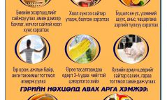 Энтеровирүсийн халдвараас сэргийлцгээе