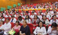 НИТХ-ын дарга С. Амарсайхан Налайх дүүргийн сувилагчдын баярын хуралд оролцлоо