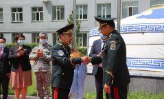 ОБЕГ-ын даргаар томилогдсон бригадын генерал Г.Ариунбуян ажлаа хүлээн авлаа