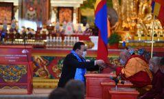 Х.Баттулга: Аврал, ариуслыг гаднын хэн нэгнээс бус, харин өөрөөсөө эрж хайж, олж гэгээрдэг нь буддын шашинтны хувьд хамгийн үнэт ололт