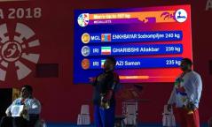 Э.Содномпилжээ Азийн паралимпоос алтан медаль хүртлээ