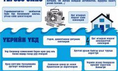 Үер усны аюулаас сэргийлцгээе