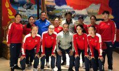 Эмэгтэйчүүдийн шигшээ баг олимпийн эрхийн төлөө барилдана
