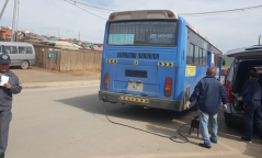 Нийтийн тээврийн үйлчилгээний автобуснуудад явуулын оношилгоо хийж байна