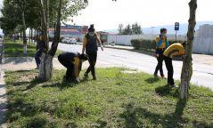Имартынхан нийтийн гудамж талбайг цэвэрлэлээ