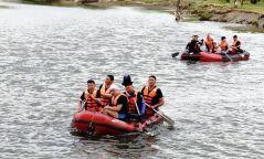 Туул голын Гачууртын Хар усан тохойгоос Биокомбинатын гүүр хүртэл завиар эргүүл хийж эхэлжээ