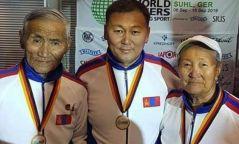 Ахмад мастеруудын Дэлхийн аварга шалгаруулах анхдугаар тэмцээнээс  гурван алтан медаль хүртлээ