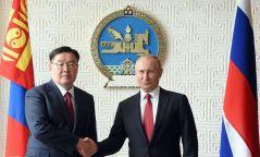 """В.Путин: """"Хамтдаа бид зөвхөн урагшаа тэмүүлэх ёстой"""""""