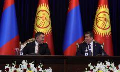 Монгол болон Киргиз улсын хооронд зарим баримт бичигт гарын үсэг зурлаа