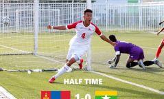 Монголын шигшээ, Мьянмарыг 1:0-ээр хожиж түүхэн ялалт байгуулав