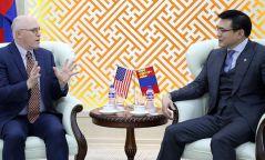 АНУ-аас Монгол Улсад суугаа Онц бөгөөд бүрэн эрхт Элчин сайд Майкл Клеческийг хүлээн авч уулзав
