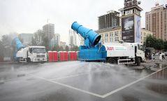 Улаанбаатар хот агаар чийгшүүлэх болон авто зам угаах машинтай боллоо