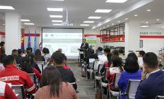 """""""Ажлын байранд анхны тусламж үзүүлэх нь"""" холимог цахим хичээл монгол хэл дээр явагдаж эхэллээ"""