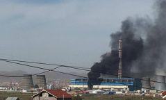 Дөрөвдүгээр цахилгаан станцын ПОД станцад гал гарчээ