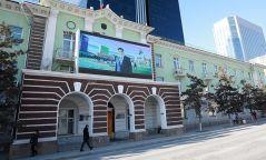 Хотын захиргааны лед дэлгэцээр мэдээ, мэдээлэл хүргэж эхэллээ