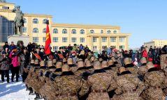 Хугацаат цэргийн алба хааж буй дайчид тангараг өргөлөө