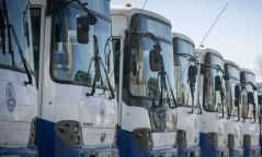 Хот хооронд явдаг том оврын автобуснуудад техникийн үзлэг хийжээ