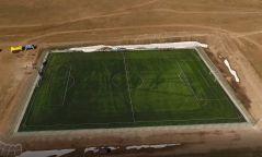 Яармагт олон улсын тэмцээн явуулах боломжтой хөл бөмбөгийн талбай байгуулна