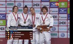 Манай гурван жүдоч медаль хүртлээ