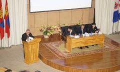 """""""Ш.Сүрэнжав-Шинэ Монголын шинэ соёл"""" сэдэвт эрдэм шинжилгээний хурал боллоо"""