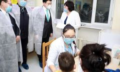 Өнгөрсөн сарын байдлаар томуу, томуу төст өвчлөлөөр 200 гаруй хүүхэд хэвтэж эмчлүүлсэн