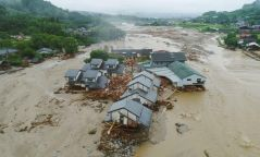 Фото: Японд байгалийн гамшиг болж 50 хүн амиа алджээ