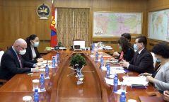 """Францын """"Орано Майнинг"""" группээс Монгол Улсын COVID-19-тэй тэмцэж буй үйл ажиллагаанд зориулж ТЭРБУМ төгрөг хандивлалаа"""