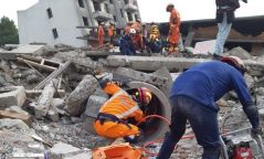 ФОТО: Онцгойгийн арван алба хаагч Хятадад болсон эрэн хайх, аврах багийн тэмцээнд амжилттай оролцжээ