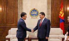 УИХ-ын дарга М.Энхболд Европын Холбооноос Монгол Улсад суух Элчин сайдыг хүлээн авч уулзлаа