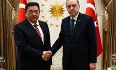 УИХ-ын дарга М.Энхболд Турк улсын Ерөнхийлөгч Режеп Тайип Эрдоанд бараалхлаа
