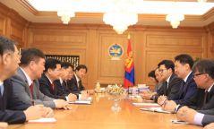 Ерөнхий сайд ӨМӨЗО-ны төлөөлөгчдийг хүлээн авч уулзав