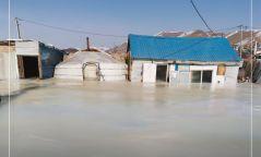 Баянзүрх дүүргийн зарим хороонд усны халиа болж айлын гэр, байшин автсан байна