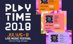 """""""Playtime 2018"""" наадмын тасалбар худалдаанд гарчээ"""