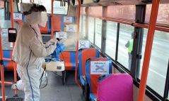 Нийтийн тээврийн 740 автобусыг ариутгаж, халдваргүйжүүлжээ