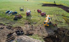 Газрын тос тээвэрлэж явсан галт тэрэг осолдсоны улмаас байгаль орчинд үүссэн бохирдлын нөлөөллийг тогтоохоор ажиллаж байна