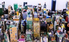 Хаягдал эд ангиар Нью-Йоркийн Манхэттэн дүүргийн 0.0635:100 хэмжээст загварыг бүтээжээ