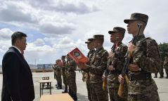 Шинэ дайчид цэргийн тангараг өргөлөө